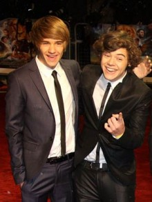 Liam Payne and Harry Styles